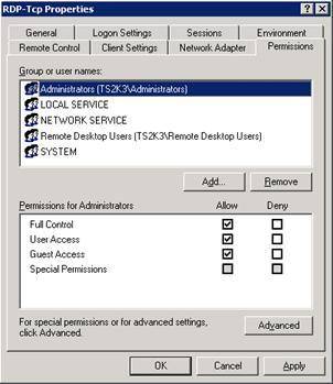 windows 2003 перенаправление портов: